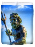 Poseidon Duvet Cover by Dan Stone