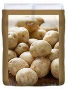 Potatoes Duvet Cover by Elena Elisseeva