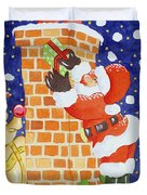 Present From Santa Duvet Cover by Tony Todd