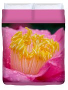Pretty In Pink Duvet Cover by Rich Franco