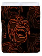 Primal Screams Duvet Cover by David Dehner