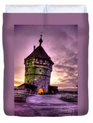 Princes Tower Duvet Cover by Syed Aqueel
