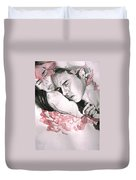 Prodigal Lover Duvet Cover by Rene Capone
