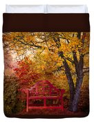 Promises Made Duvet Cover by Debra and Dave Vanderlaan