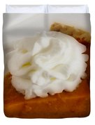 Pumpkin Pie Duvet Cover by Cheryl Young
