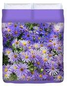 Purple Reigns Duvet Cover by Joan Carroll