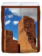 Quarai Salinas Pueblo Missions National Monument Duvet Cover by Christine Till