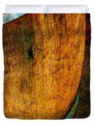 Rain Barrel Duvet Cover by Judi Bagwell