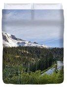 Rainier Journey Duvet Cover by Mike Reid