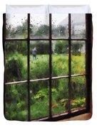Rainy Day Duvet Cover by Susan Savad