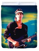 Randy In The Clouds 2 Duvet Cover by Ben Upham