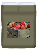 Ready To Eat Duvet Cover by Susan Herber