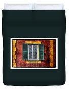Red Wall Duvet Cover by Mauro Celotti