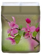 Redbud Branch Duvet Cover by Jeff Kolker