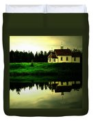 Reflection Of Faith  Duvet Cover by Jerry Cordeiro