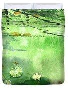 Reflections 1 Duvet Cover by Anil Nene