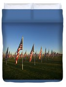 Remember 911 Duvet Cover by Mike  Dawson