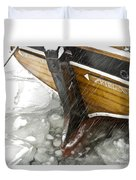 Resting In Ice Duvet Cover by Heiko Koehrer-Wagner