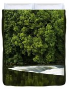 River Boyne, County Meath, Ireland Duvet Cover by Peter McCabe