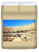 Rome Coliseum Duvet Cover by Valentino Visentini