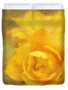Roses for Remembrance Duvet Cover by Judi Bagwell
