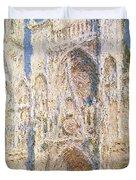 Rouen Cathedral Duvet Cover by Claude Monet