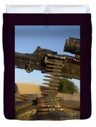 Rounds Of A M240 Machine Gun Duvet Cover by Stocktrek Images