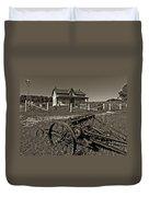 Rural Ontario Sepia Duvet Cover by Steve Harrington