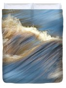 Rushing Waters Duvet Cover by Carolyn Marshall