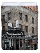 San Francisco Marquards Little Cigar Store Powell Street - 5D17950 Duvet Cover by Wingsdomain Art and Photography