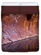Sandstone Reality Duvet Cover by Mike  Dawson