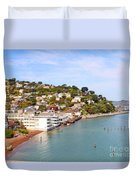 Sausalito California Duvet Cover by Jack Schultz