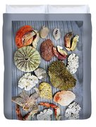 Sea Treasures Duvet Cover by Elena Elisseeva