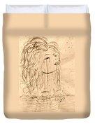 Sea Woman 2 Duvet Cover by Georgeta  Blanaru