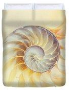 SeaShell. Light Version Duvet Cover by Jenny Rainbow