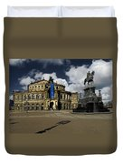 Semper Opera House Dresden - A Beautiful Sight Duvet Cover by Christine Till