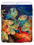 Shades Of Leafin An Imprint Duvet Cover by Jo-Anne Gazo-McKim