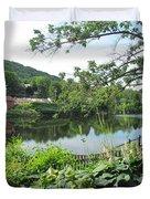 Shelburne Falls Duvet Cover by Randi Shenkman