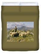 Shepherd Of The Pyrenees Duvet Cover by Rosa Bonheur