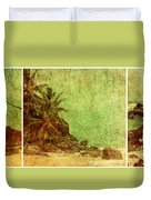 Shipwrecked Duvet Cover by Andrew Paranavitana