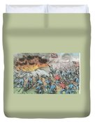 Siege And Capture Of Vicksburg, 1863 Duvet Cover by Photo Researchers
