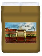 Silk City Lounge Duvet Cover by Bill Cannon