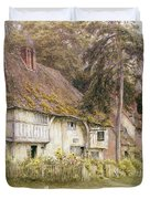 Six Bells Hollingbourne Kent Duvet Cover by Helen Allingham