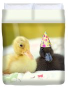 Slumber Party Duvet Cover by Amy Tyler