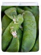Snap Peas Please Duvet Cover by Susan Herber