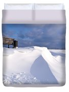 Snowy Day Duvet Cover by Heiko Koehrer-Wagner