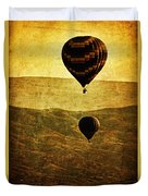Soaring Heights Duvet Cover by Andrew Paranavitana
