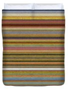 Soft Stripes l Duvet Cover by Michelle Calkins