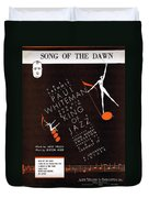 Song Of The Dawn Duvet Cover by Mel Thompson