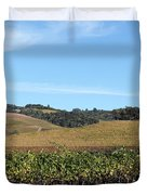 Sonoma Vineyards - Sonoma California - 5D19309 Duvet Cover by Wingsdomain Art and Photography